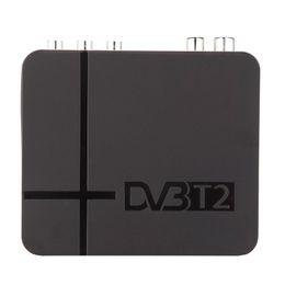 Wholesale Satellite Hd Tv Box - Full HD 1080P Set top Box K2 H.264   MPEG-2 4 DVB-T2 Digital Terrestrial Satellite TV Receiver Compatible with DVB-T for TV HDTV V1225