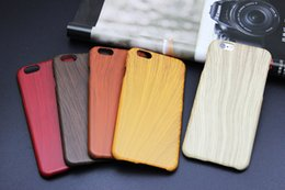 Wholesale Iphone 4s Cases Bamboo - Wood-Like Plastics Bamboo Wood Wooden Combo Hard Case back Cover For Apple iPhone 4 4S 5 5S 6 Plus 6plus iPhone6