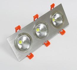 L'épi de trois têtes a mené les lumières enfoncées menées dimmables de downlight 3 * 10W pour la maison 85-265V chaude blanc / blanc / lumière blanche menée de tache ? partir de fabricateur