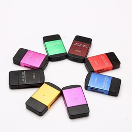 Wholesale Memory Stick Duo Sd Card - Micro SD USB 2.0 Card Reader High Speed All in One Card Reader Adapter TF Micro SD Memory stick pro duo adapter