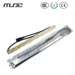 Wholesale Led Bar Side - MJJC 1M 60SMD 5050 Bright LED Rigid Strip Light Bars for Under Cabinet Lighting with 3M Adhesive Tape on Back Side
