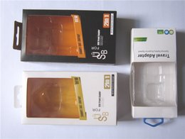 Wholesale Iphone Chargers Set 4s - Empty Charger Set adapter wall charger retail packaging wall charger and cable cord carton box for IPhone 4S 5 5S 5C Samsung S4 S5 1 lot up