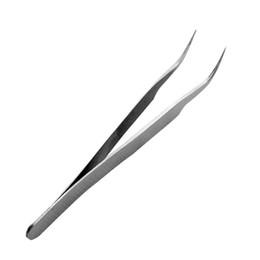 Wholesale Forceps Tweezers - 12pcs lot DIY Stainless Steel Hand Tools Pliers Curved Needle Nippers Mini Repairment Forceps Tweezers os169