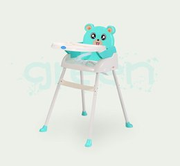 Wholesale Washing Chairs - Table of children's dining taken apart to wash the table of children dining chair wide adjustable light and easy to carry