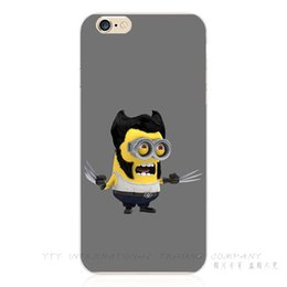 Wholesale Despicable Case Iphone Silicon - Wholesale-Newest Arrival Silicon Cover Despicable Me Yellow Minion Case For Apple iPhone 6 Plus iPhone6+ 5.5'' Phone Cases Shell NN