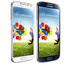 Wholesale S4 Black Quad Core - 100% Original Samsung Galaxy S4 i9500 unlocked hot sale phone 13MP Camera Quad Core 16GB Storage cell phones in stock 002864
