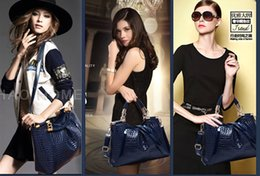 Wholesale Celebrity Hobo - Fashion Shoulder bag celebrity genuine leather alligator clutch for woman fashion hand bag for ladies