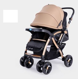 Wholesale two way stroller - New baby stroller makes multi functional portable baby car two way reversible children's portable folding stroller
