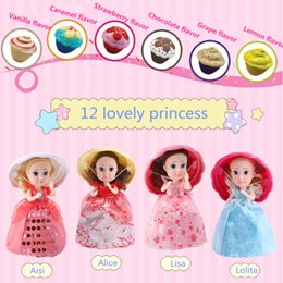 Wholesale Doll More - Surprise Cupcake Princess Doll Deformation Dolls Girl Beautiful Cute Toy Birthday Present More Than Three Years Old 9.7 * 16 cm