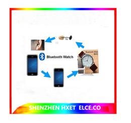 Wholesale Exam Earpiece - Hot sale Bluetooth Watch for Spy Earpiece gsm spy earpiece for exam