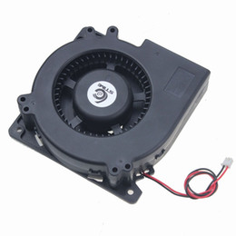Wholesale 12 V Computer Fan - Wholesale- Gdstime 1 piece DC 12 V 2 Wire Cooling Brushless Exhuat Blower Fan 120MM 2Pin 120X120X32mm 12032S Sleeve-breaving New