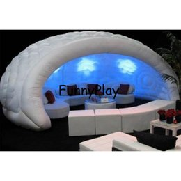 Wholesale Show Tents - Wholesale- Inflatable Luna tent for Trade show,Exhibition,White portable outdoor dome inflatable bar tent,oxford Half Inflatable Dome Tent