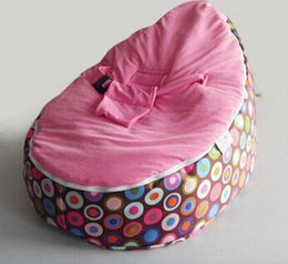 Wholesale Beanbag Free Shipping - Top Quality Baby Sofa child Seat Baby Bean Bag New Baby Beanbag bean bags seat sleep chair free shipping
