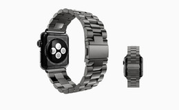 Wholesale Wholesale Sale Smart Watch - Top Sales Stainless Steel Link Bracelet Band + Connector Adapter For Apple Watch Band 38MM 42MM Metal Strap For iPhone iWatch DHL