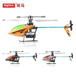 Wholesale Sima Remote Helicopters - SYMA Sima HM F3 2.4 four -channel remote control airplane single oar outdoor interchangeable battery electric helicopter