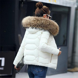 Wholesale Woman Down Fur Coats - Winter Jacket Women 2017 High Quality Slim Jackets For Women Winter Coats Outwear Coat Female Cotton Parkas