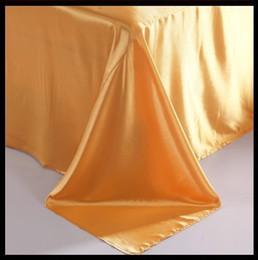 Wholesale Natural Silk Comforter Bedding Set - Wholesale-Luxury gold natural mulberry silk comforter bedding set king size queen full twin duvet cover bed sheet mulfruit golden yellow
