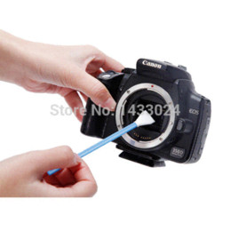 Wholesale Sensor Clean Swab - New Arrival VSGO APS-C DSLR Sensor Cleaning Swab With Liquid Cleaner Camera Cleaning DDR-16 swab stick
