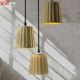 Wholesale Contemporary Lightings - New arrival Cotemporary Loft Pendant lightings e27 edison Chandeliers Creative DIY imitate cement personality art ceiling lamps dining room