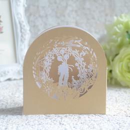 Wholesale 3d Bride Groom Invitation - Sample list Bride Groom 3D Wedding Invitation Card for Wedding Decoration