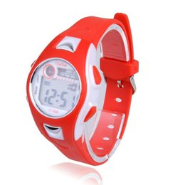 Wholesale Children Watch Lowest Price - 2015 Wholesale Hot Selling LED Electronic Sports Watch Silicone Leather Wristwatches Boy Girls Children Digital Watch Low Price