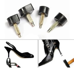 Wholesale Tap Shoes For Women - Wholesale 3 Size High Heel Shoes Dowel Stiletto Repair Replacement Tips Taps Pins Lifts Heel Protector Noiselessness For Women