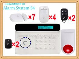 Livraison Gratuite DHL, Empty House Safe Système D'alarme Anti-intrusion Sécurité Sécurisée Définit Le Système D'alarme SMS Signal GSM ? partir de fabricateur