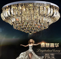 Wholesale Living Room Lamp Drop - Free shipping Modern Rain Drop Pendant crystal Ceiling Lamp luster living room crystal lights
