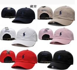Wholesale hat strap - 2017 popular rare polos cap Brand Hundreds Rose Strap Back Cap men women Adjustable 6 panel golf polos snapback baseball hats casquette