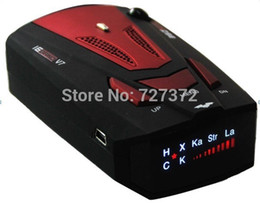 "Wholesale Cars Times - New V7 16 Band 360 Degree Time & Speed 1.5"" LCD Display Digital Car Vehicle Speed Radar Laser Detector Detection E-dog"