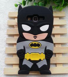 Wholesale Cartoon Casing Galaxy Grand - 1PCS Cute 3D Cartoon Batman Soft Silicone Case Cover For Samsung Galaxy Grand Prime G530 G530H Cell Phone Cases Wholesales