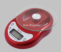 Wholesale Electronic 5kg - Small Size High Precision 5kg-1g Electronic Weighing Scale for Household Digital LCD Display Free Shipping