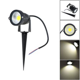 Wholesale Spot Flood Landscaping - 10W LED Landscape COB Epistar LED Chip Garden Wall Yard Pond Flood Spot Light Lawn Lamp Outdoor Light Waterproof IP65 AC DC 12V