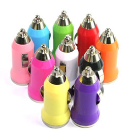 Wholesale Blue 3gs - 2017 limited sale free shipping multi color mini usb car charger adapter cellphone universal for iphone 4 4s 3g 3gs ipod cell phone mp4