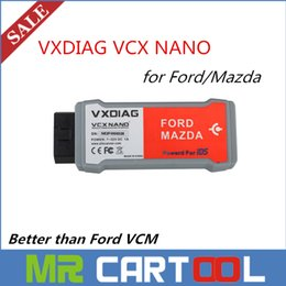 Wholesale New Vcm - 2015 New release VXDIAG VCX NANO For Ford and Mazda With IDS V97 exceed Ford VCM support Multi-Language Free shipping