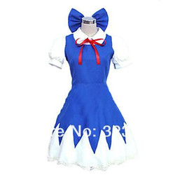 Canada Touhou Project Le Incarnation du Costume Scarlet Devil Cirno Cosplay Offre