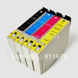 Wholesale Sx125 Ink Cartridges For Epson - For epson T1281 compatible ink cartridge For EPSON Stylus S22 SX125 SX130 SX230 SX235W SX420W SX425W SX430W SX435W Printer