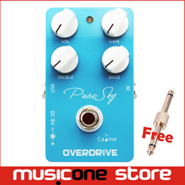 Wholesale Guitar Pedal Caline - caline Delay Guitar effect Pedal Guitar Digital Delay Pedal CP 12 Pure Sky OD Free connector MU0138