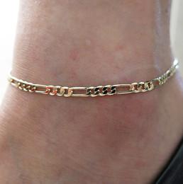 Joyería de tobillo caliente online-Accesorios de moda nuevos y calientes Joyas cadena de oro tobillera Tobillera ajustable de espiga, pulsera de tobillo, joyería de pie