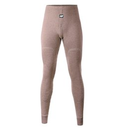 Wholesale Wool Thick Leggings - Wholesale-Men sleep bottoms trousers warm pants knitted cashmere wool underwear line plus thick velvet leggings winter