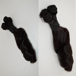 Melhor cabelo humano peruano on-line-Barato tia funmi tecelagem do cabelo best selling 3 pcs lot caracol bouncy cabelo funmi peruano virgem cabelo humano tias tia funmi onda G-EASY