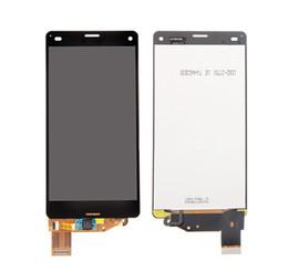 Para Sony Xperia Z3 Asamblea LCD compacta con panel táctil de buena calidad, ajuste perfecto con envío rápido desde fabricantes