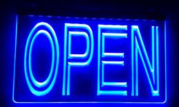 Wholesale Neon Light Open Sign - LS004 OPEN Overnight Shop Bar Pub Club Neon Light Sign