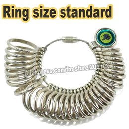 Wholesale Measure Rings - Ring Gauge size standard for finger ring measurement Scales, US JAPAN HK SIZE available for choice ,measuring jewelry tool