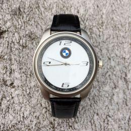 Wholesale popular watches - Popular BM brand men's Leather strap quartz wrist watch