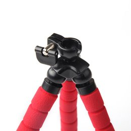 Wholesale Tripod Flexible Legs - Wholesale-Smartphone Holder Flexible Octopus Leg Tripod Bracket Selfie Stand Mount Monopod Adjustable Accessories For All Phone