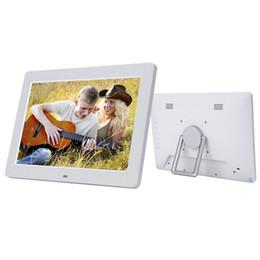 Wholesale Black Photo Frame Clock - Xuenvo Brand 12.1'' HD Digital Photo Frame Remote Control Multimedia Photo Album With MP3 Video Photo Play Calendar Function.