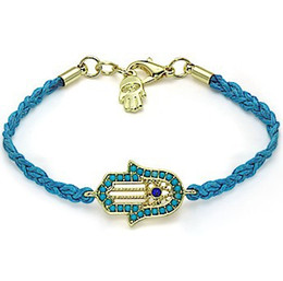 Wholesale Mixed Evil Eye Charm - New Fashion Jewelry 20pcs Mixing Braid Rope Bracelets Gold Plated Hand Palm Evil Eye Bracelets Woman Christmas Gift DIY Jewelry