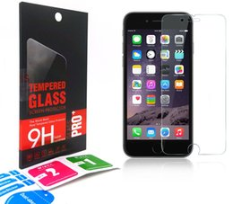 Wholesale Clear Screen Inches - 2.5D Tempered Glass Screen Protector For IPhone 6s 6 plus SE 5s 5 rear 4.7 5.5 Inch 4s Apple watch 38mm 42mm clear protector Retail Package