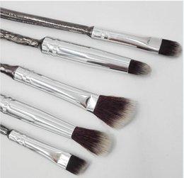 Wholesale Hair Brush Set Bag - Makeup Tools Harry Potter Makeup Brush Set 5 Pack Brush with bag Tarte Makeup Brush drop Shipping